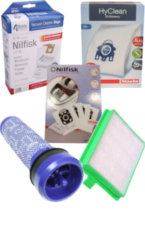 Irelands largest supplier of vacuum cleaner dust bags and filters